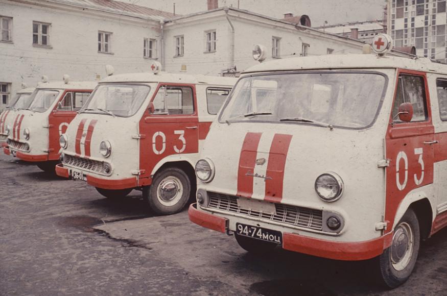 РАФ-977 (1960, художник-конструктор С. Мирзоян)