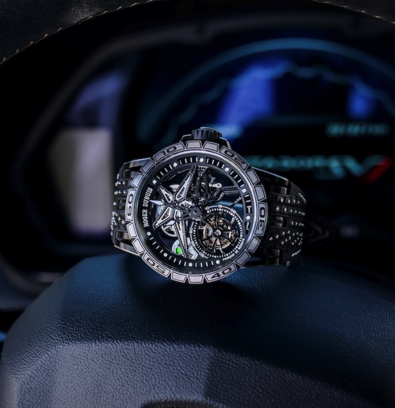 Часы Excalibur Pirelli Flying Tourbillon