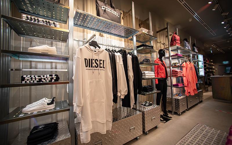 Флагманский магазин Diesel в Москве