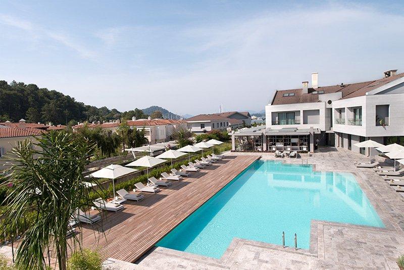 Вид на отель D-Resort Gocek