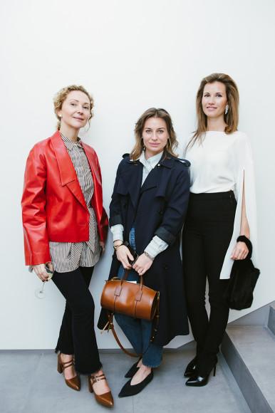 Яна Аброшкина, Анастасия Рябцова и Екатерина Винокурова