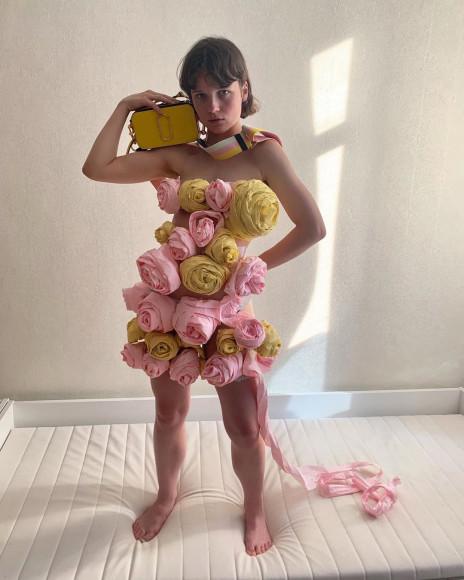 Майя Голышкина в совместном проекте с Marc Jacobs