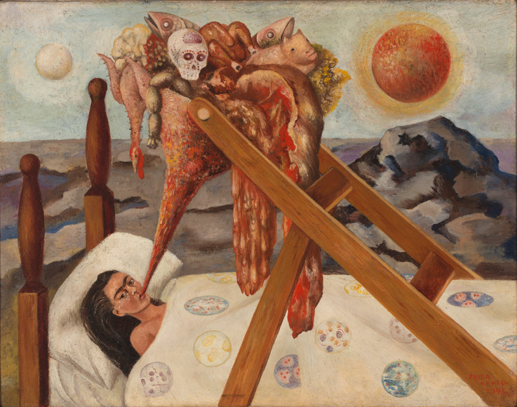 Фрида Кало. Без надежды. 1945