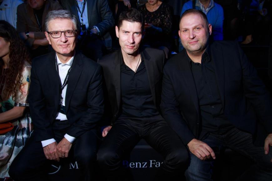 Франьо Бобинац, CEO Asko,, Марко Мрзел, член Правления Asko, Диме Рангелов, генеральный директор Asko Russia