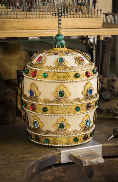 Тиара, подаренная Наполеоном Папе Пию VII, 1804-1805
