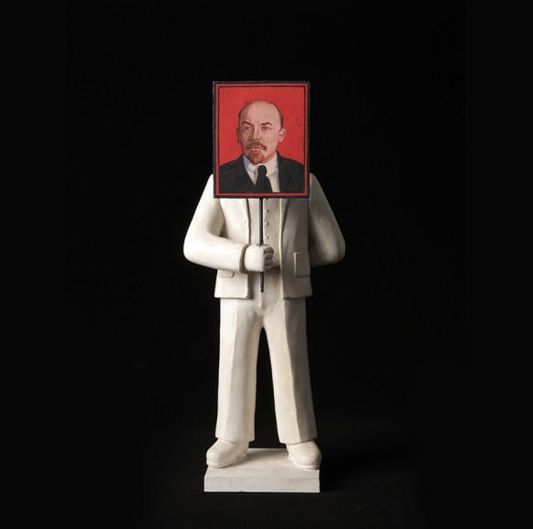 Гриша Брускин, из серии «Рождение героя» Дар самого художника