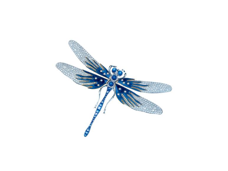 Брошь Dragonfly, Tiffany & Co.