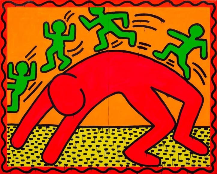 Кит Харинг, без названия, 1982