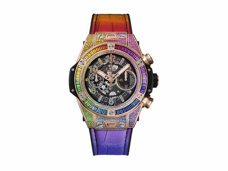 Часы Big Bang Unico King Gold Rainbow, Hublot