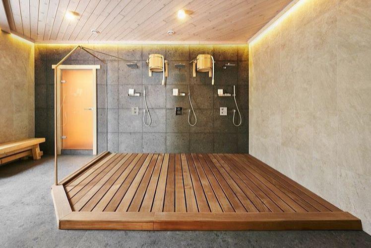 Душевая в «Бочке», банный комплекс «Бор812»