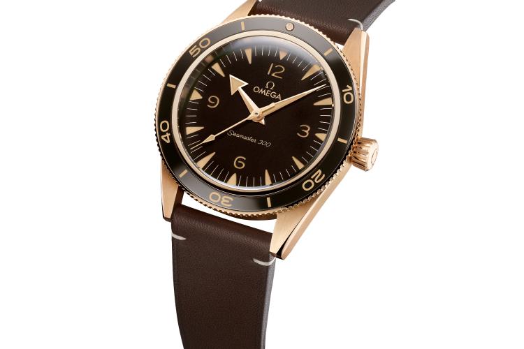 ЧасыSeamaster 300 Bronze Gold, Omega