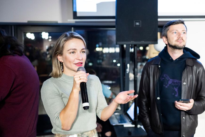 Екатерина Самородова (ГК ФСК) и Евгений Тихонович