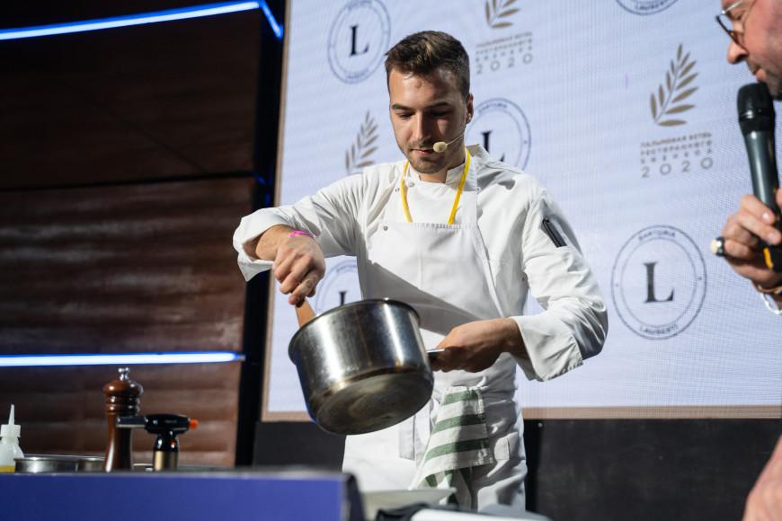 Сергей Андрейченко, шеф-повар Sartoria Lamberti