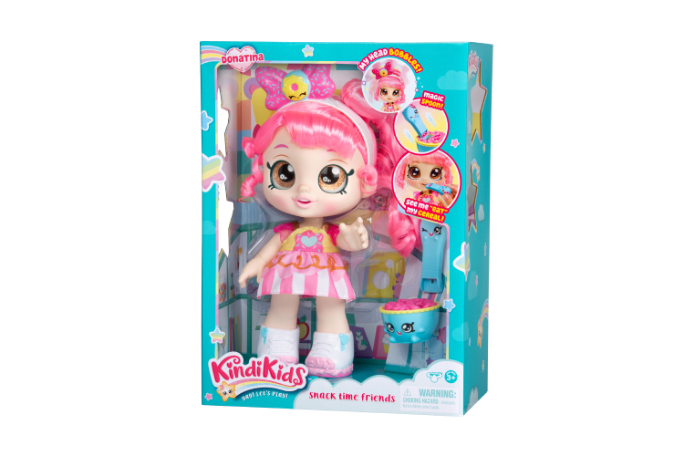 Кукла «Донатина», Kindi Kids,3999 руб. (toy.ru)