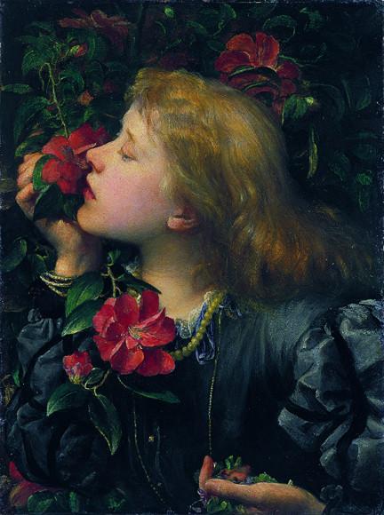 Джордж Фредерик Уоттс. «Эллен Терри (Выбирающая)». Около 1864 г.