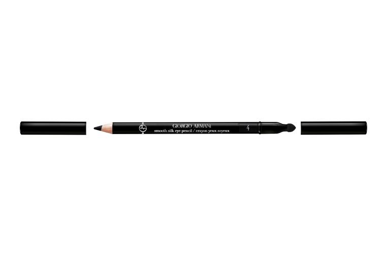 Карандаш для глаз Smooth Silk Eye Pencil, оттенок 4 Noir, Giorgio Armani