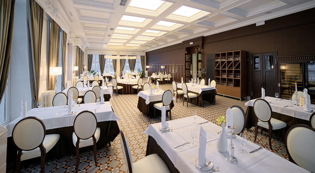 Ресторан в Schloss-Hotel