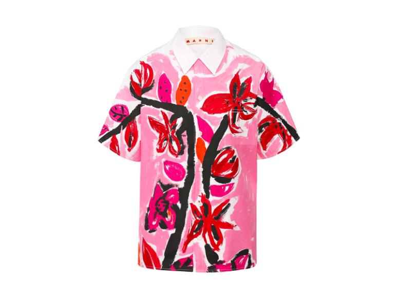 Женская рубашка Marni, 48 000 руб. (tsum.ru)