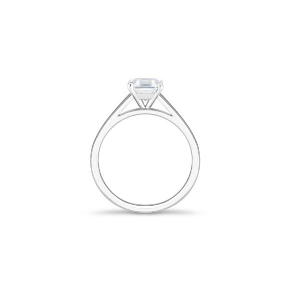 Кольцо DB Classic, бриллиант огранки «Ашер» весом 1 карат