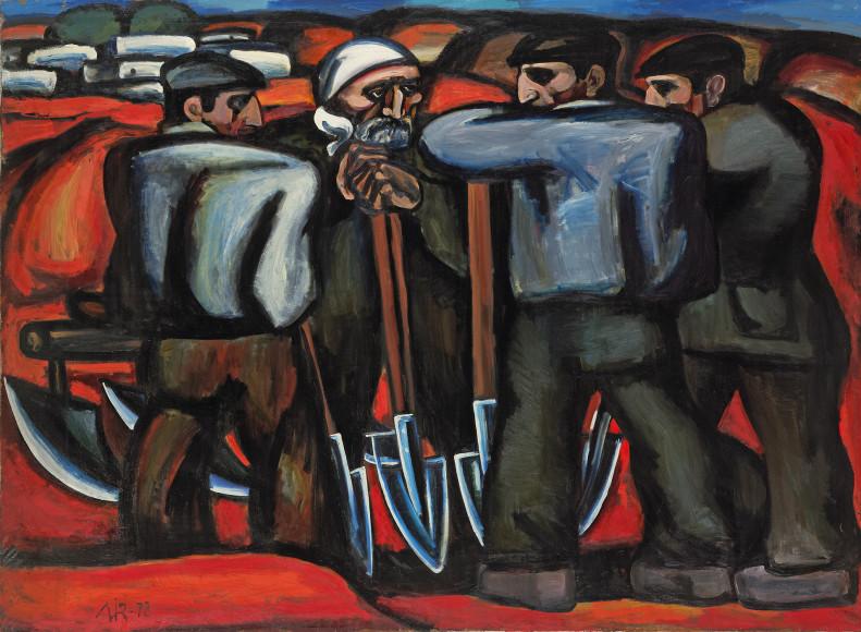 Мир Надир Зейналов. «Апшеронские сеятели», 1972