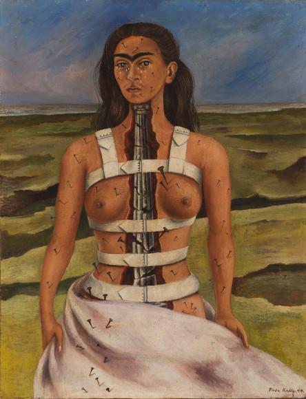 Фрида Кало. Сломанная колонна. 1944