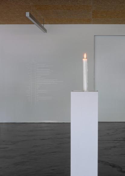 Кэти Петерсон, «Свеча» («От Земли к черной дыре»), 2015