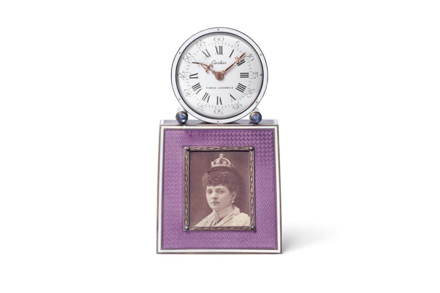 Настольные часы с рамкой для фотографии,Cartier, Париж, 1907