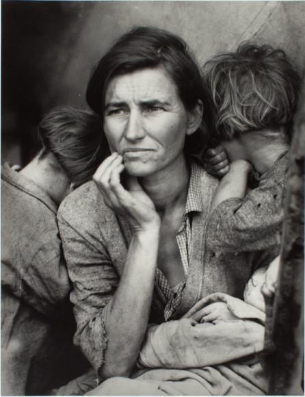 ДоротеяЛанж. «Мать-мигрантка», 1936 (Коллекция сэра Элтона Джона)