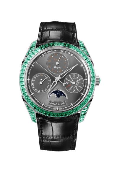 Часы Tonda Hijri Perpetual Calendar Emeralds