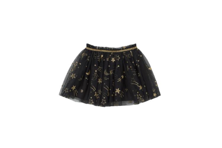 Тюлевая юбка с блестками H&M, 699 руб. (hm.com/ru)