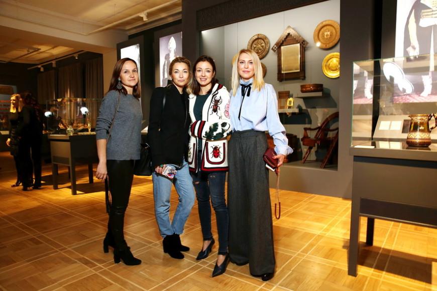 Ольга Шумейко, Елена Тельцова, Ирина Вольская и Даша Михалкова