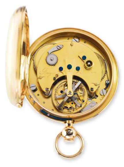 Карманные часы с турбийоном 1188, Breguet, 1808