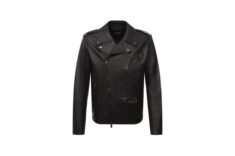 Кожаная куртка, 282000 руб., Dolce & Gabbana