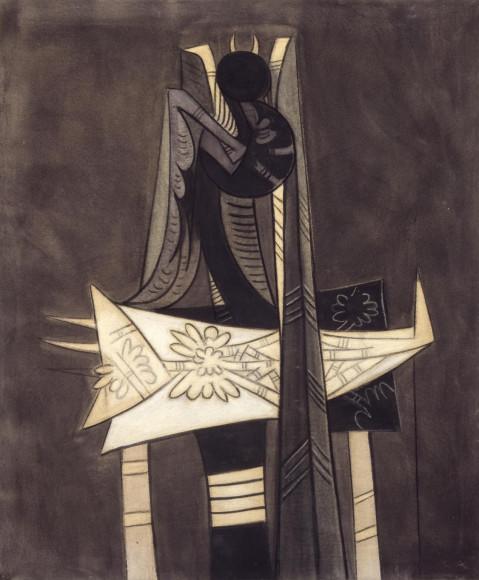 Вифредо Лам. «Ibaye»,1950