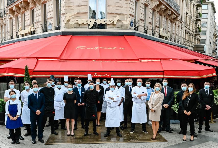 Команда Hôtel Barrière Le Fouquet's Paris