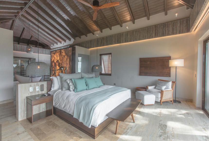 Спальня на вилле(ANI Private Resort Dominican Republic)