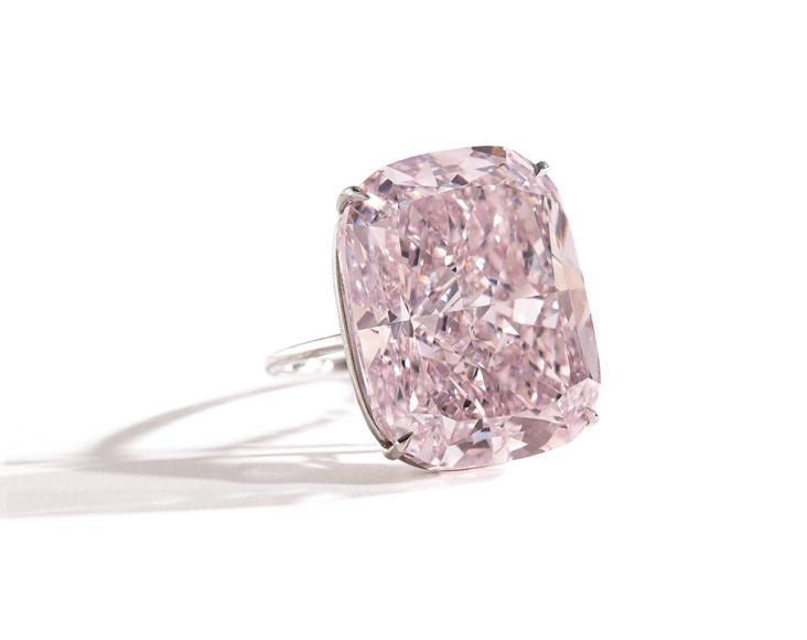 Кольцо с розовым бриллиантом Raj Pink