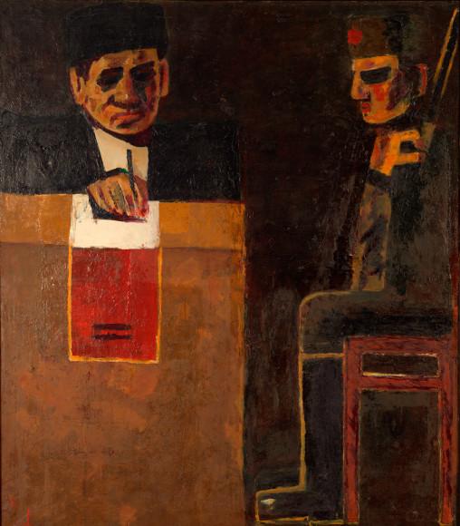 Ашфар Мурад. «Голосование», 1971