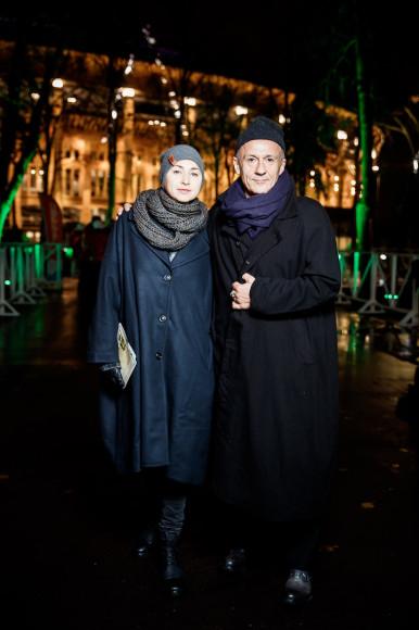 Анастасия и Олег Меньшиковы