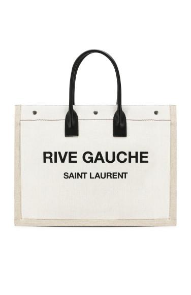 SAINT LAURENT Текстильная сумка-тоут Noe