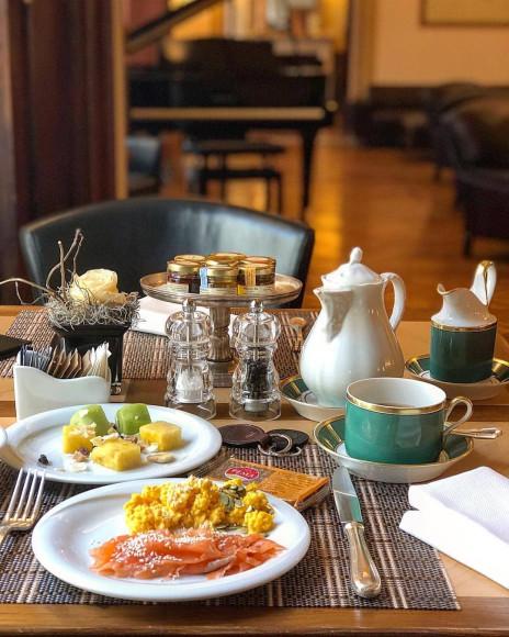 Завтраки Baglioni Hotel Carlton