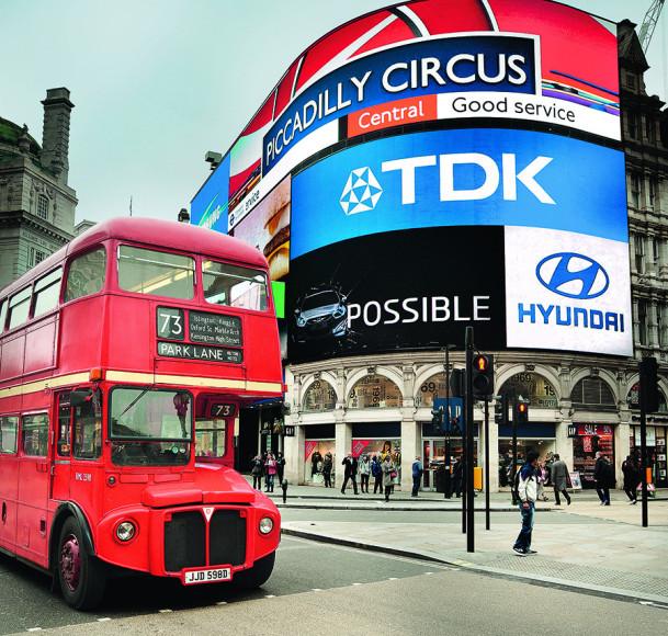 Лондонский двухэтажныйавтобус 1966 года