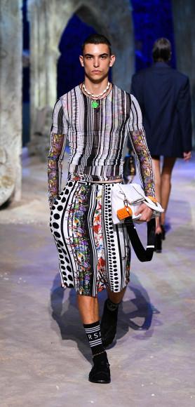 Versace, весна-лето 2021