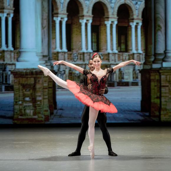 Кристина Кретова в «Дон Кихоте», Баварская государственная опера