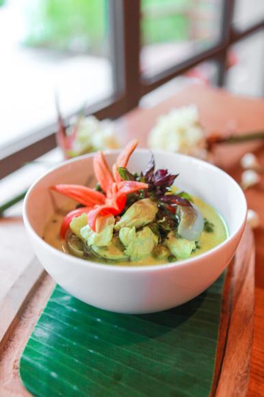 Морепродукты в ресторане(ANI Private Resorts Thailand)