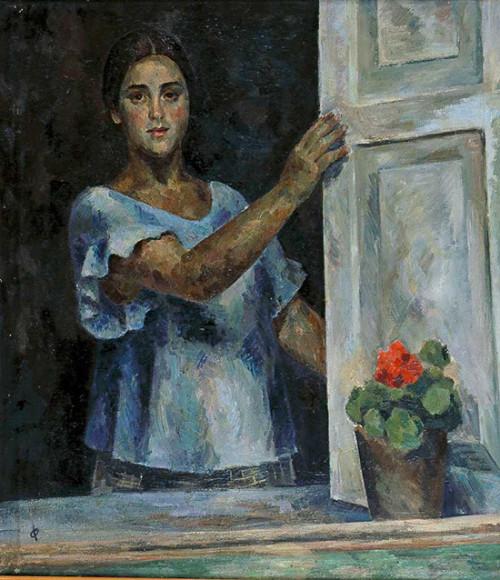 Р. Р. Фальк «Девушка у окна»