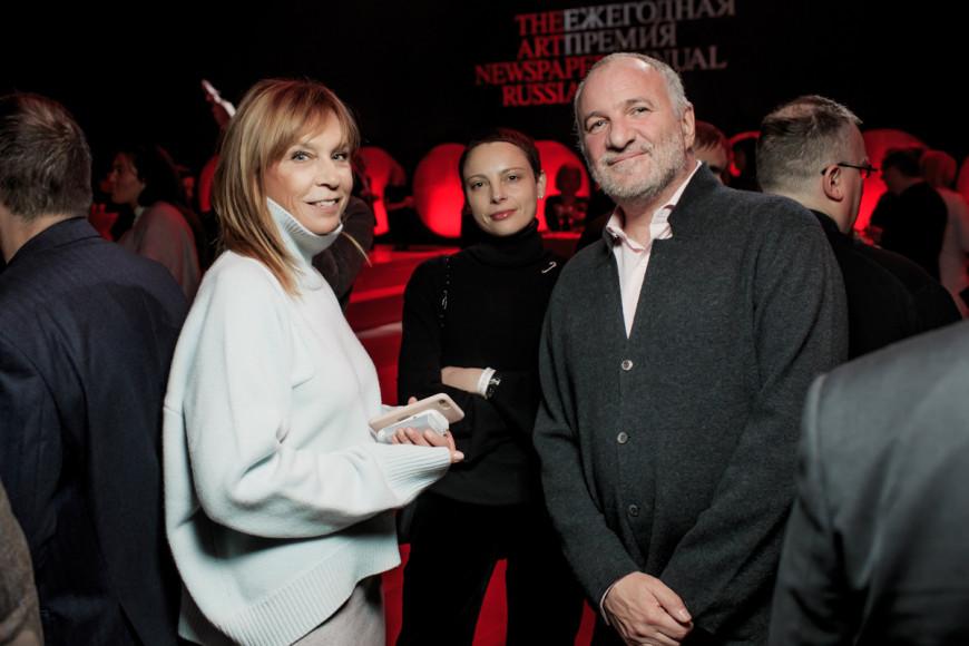 Алена Долецкая и Емельян Захаров