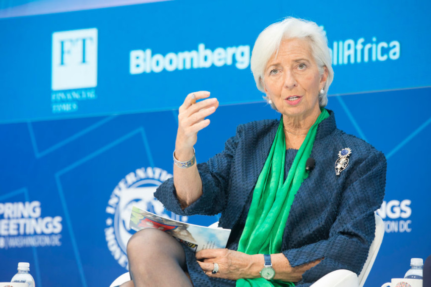 Фото: Stephen Jaffe/IMF via Getty Images