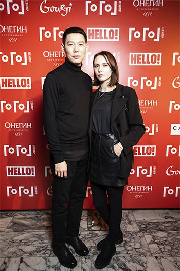 Евгений Сангаджиев и Ксения Андриянова