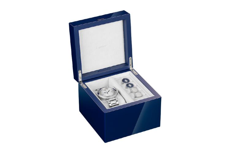Шкатулка для часов и запонок Pasha de Cartier, Cartier, 158 000 руб. (без содержимого) (Cartier)